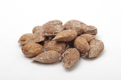 Salted almonds Royalty Free Stock Photos