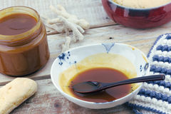 Salted Butter Caramel Royalty Free Stock Image