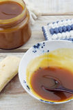 Salted Butter Caramel Stock Photo
