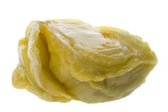 Salted Cabbage Isolated Stock Image