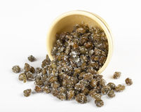 Salted capers Stock Photography