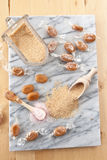 Salted caramels Royalty Free Stock Photos