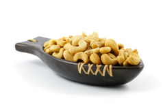 Salted Cashew Nuts Royalty Free Stock Photo