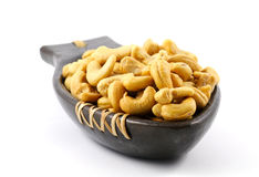 Salted cashew nuts Stock Photos
