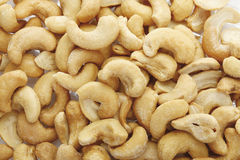 Salted cashew nuts Royalty Free Stock Photos