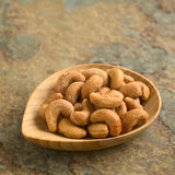Salted Cashew Nuts Stock Photography
