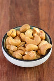 Salted cashew Stock Image