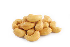 Salted cashews Royalty Free Stock Photo