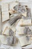 Salted cod fish Stock Photo