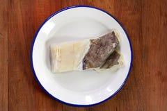 Salted codfish Stock Photos