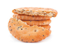 Salted cookie Royalty Free Stock Image