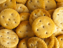 Salted cookies Stock Photos