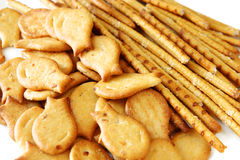 Free Salted Cookies Stack Stock Photography - 26224022