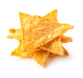 Salted corn chips Royalty Free Stock Photo