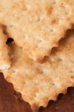 Salted cracker with sesame Stock Photography