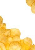 Salted crisp snacks Royalty Free Stock Photo