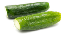 Salted cucumber Stock Photo