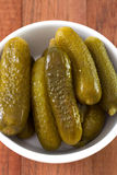 Salted cucumbers Royalty Free Stock Photo