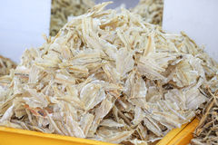 Salted dried fish Stock Photography