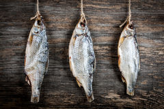 Salted dried fish Royalty Free Stock Photography