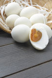 Salted duck eggs 2 Stock Photos