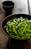 Salted Edamame Stock Photography