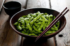 Salted Edamame Stock Images
