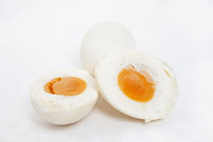 Salted egg Royalty Free Stock Photo