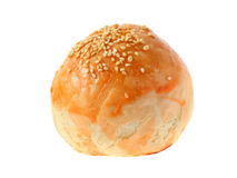 Salted Egg Bun Royalty Free Stock Photo