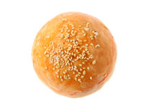 Salted Egg Bun Stock Photos