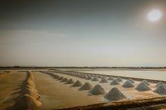 Salted farm Stock Photos