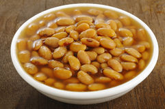 Salted fermented soybeans Royalty Free Stock Image