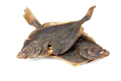 Salted flounder Royalty Free Stock Images