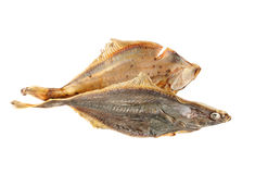 Salted flounder Royalty Free Stock Photography