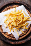 Salted french fries Stock Images
