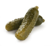 Salted gherkins Stock Image
