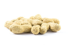 Salted groundnuts Royalty Free Stock Photos