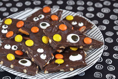 Salted Halloween Monster Bark Royalty Free Stock Photos