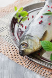 Salted herring Royalty Free Stock Images