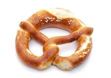 Salted lye pretzel Royalty Free Stock Image