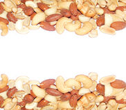 Salted Mixed nuts Royalty Free Stock Photos