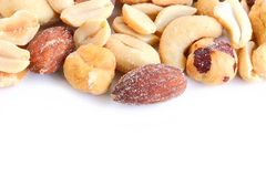 Salted Mixed Nuts Stock Images