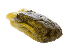Salted Mustard Isolated Royalty Free Stock Images