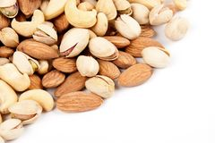 Nuts stock photo