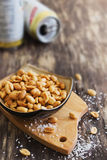 Salted peanut nuts Royalty Free Stock Photography