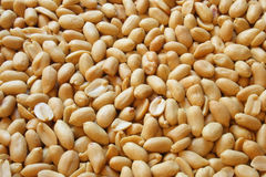 Salted peanuts Royalty Free Stock Images