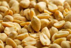 Salted peanuts Royalty Free Stock Photos