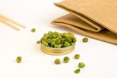 Salted peas Stock Photo