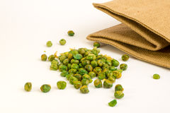 Salted peas Royalty Free Stock Photography
