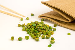 Salted peas Stock Photography